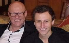 john caudwell with son rufus caudwell small