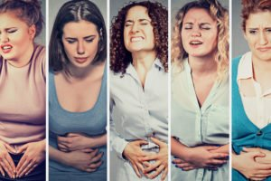 Women suffering from severe Prementrual Syndrome