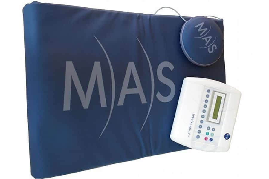 Pulsed Magnetic Field Therapy (Mas Mat) supports the metabolism & increases blood flow throughout the body