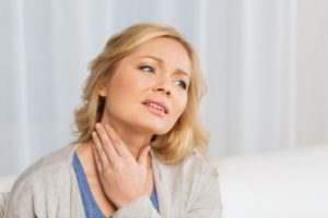 Woman with Thyroid condition, in need of LifeWorks treatments