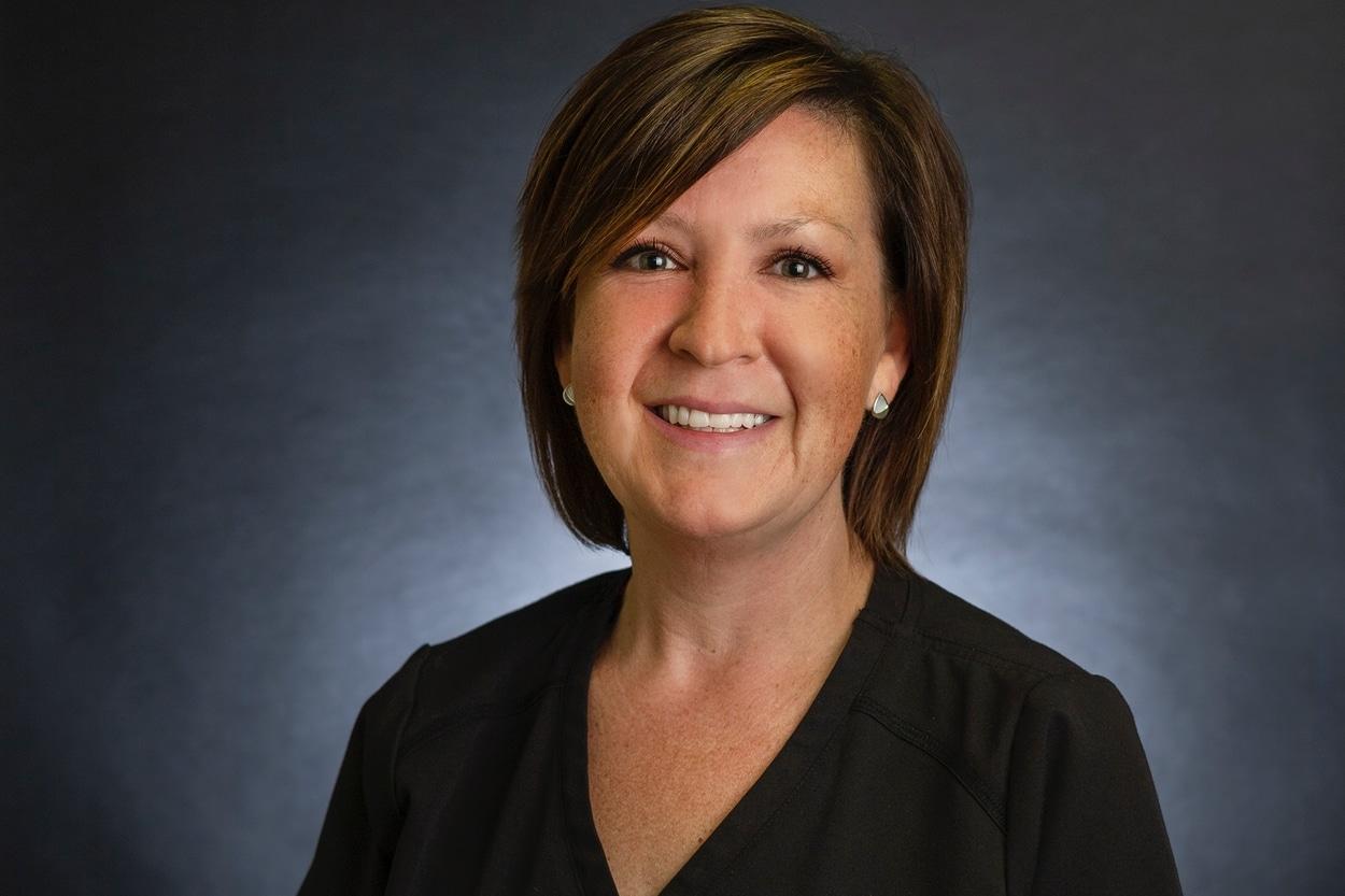 Christine,  a valuable member of LifeWorks Wellness Center