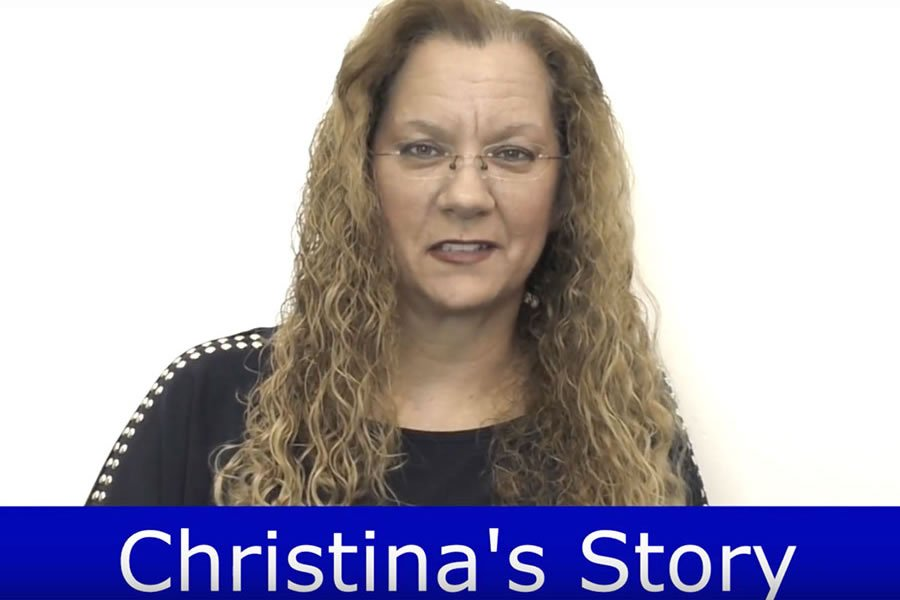Our patient, Christina, recovered from cancer thanks to our alternative therapies