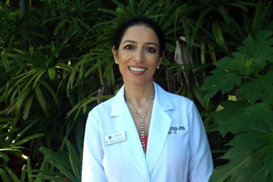 Karima Redouan, our Board Certified Family Nurse Practitioner