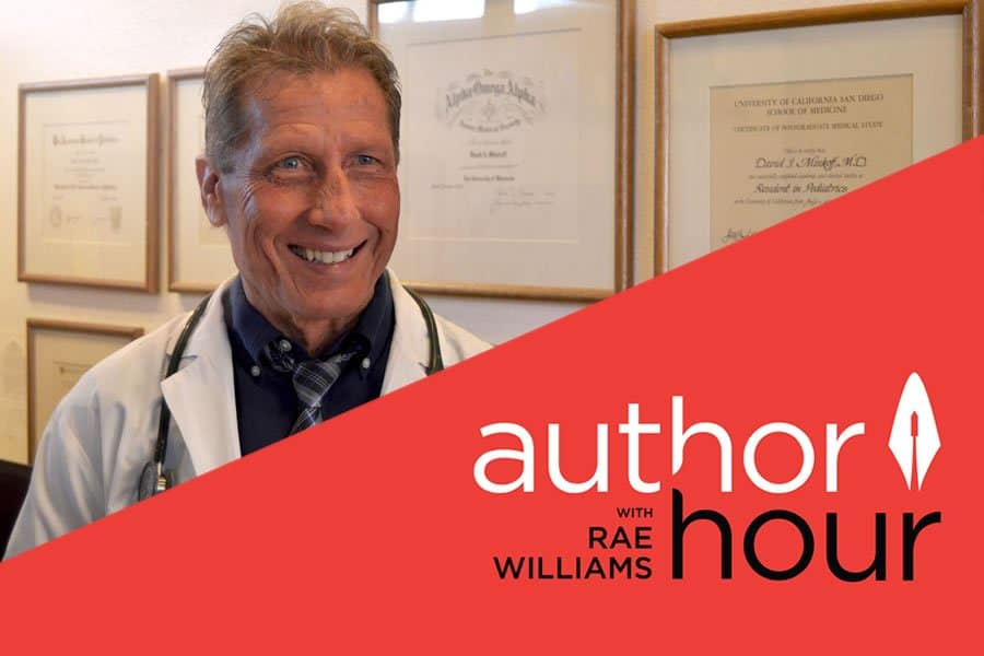 Dr Minkoff participates in the show Author Hour with Rae Williams