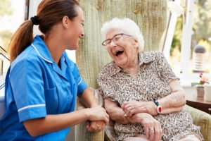 Our Patient received dementia treatment that helped her become more lucid
