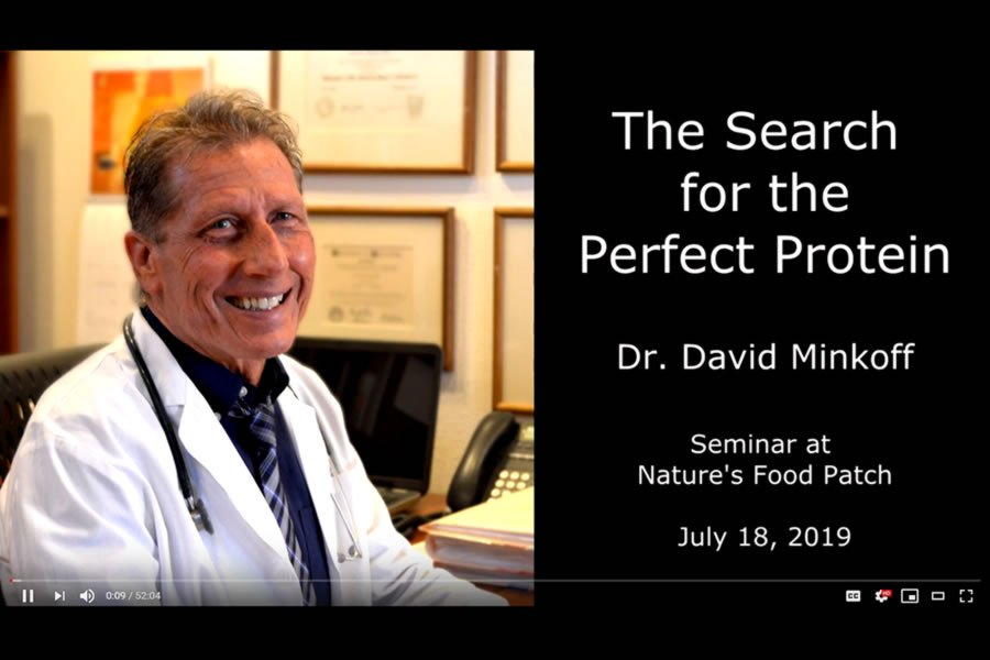 Dr. Minkoff Discusses The Perfect Protein Talk at Nature's