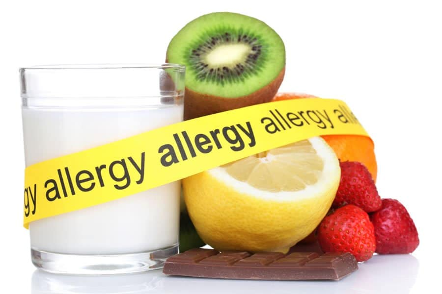 Fruits and vegetables. We offer natural therapies for food allergies