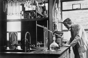 Breast cancer research has a long history.