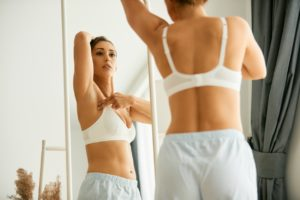 Breast cancer signs to look for during your self exam.